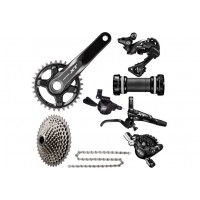 Shimano XT M8000 1x11 Groupset - No Rotors